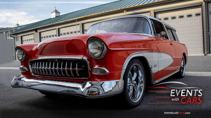 55 Chevy Nomad - Car of the Week Winner by Eventswithcars.com