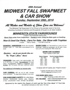 49th Annual Midwest Fall Swap Meet & Car Show