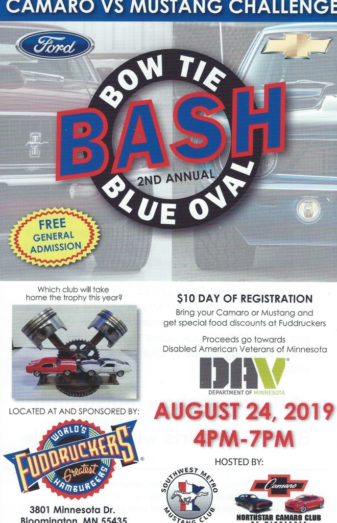 2nd Annual Bow Tie Bash Blue Oval