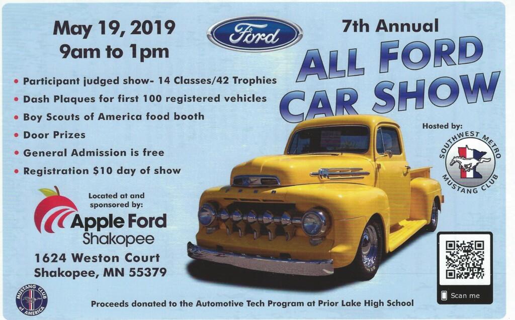 7th Annual All Ford Car Show