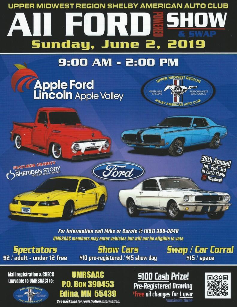 All Ford  Show & Swap Meet