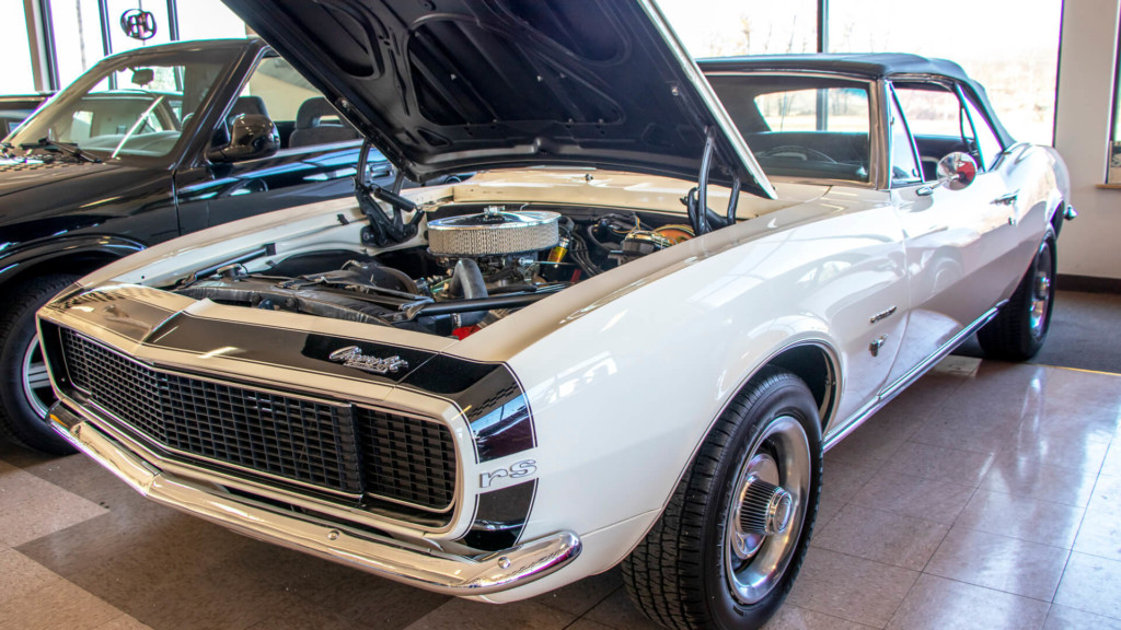 67 Camaro Rally Sport Convertible -  Events With Cars