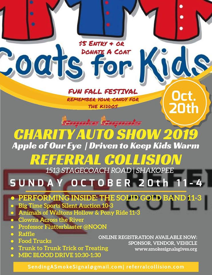Smoke Signals Charity Auto Show