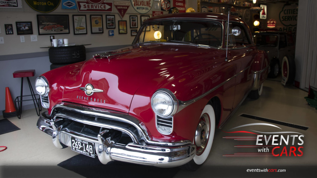 Cars and Caves Chanhassen Olds Rocket 1950