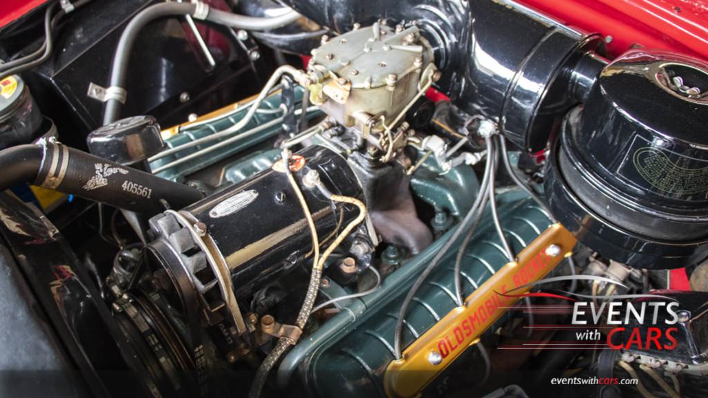 1950 Olds Rocket 303 Engine