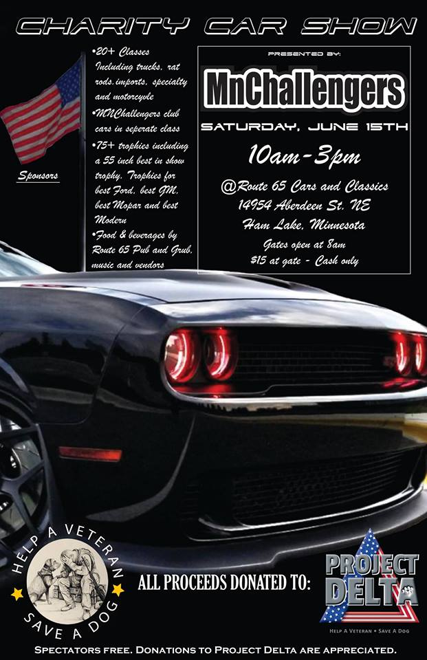 MN Challengers Events With Cars