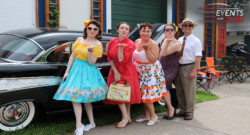 Ladies Rule at MSRA Back to the 50's Car Show