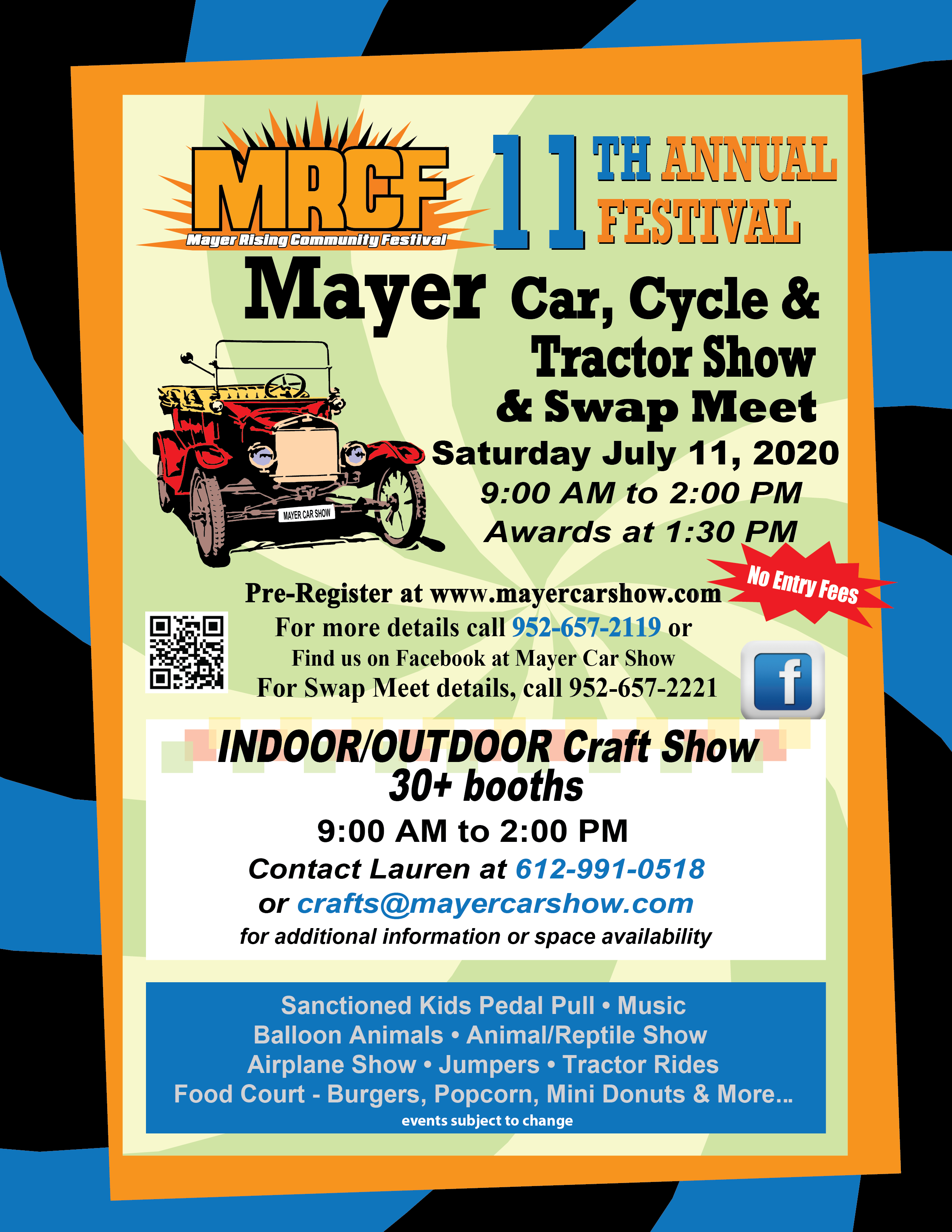Mayer's 12th Annual Car, Cycle & Tractor Show - Events with Cars