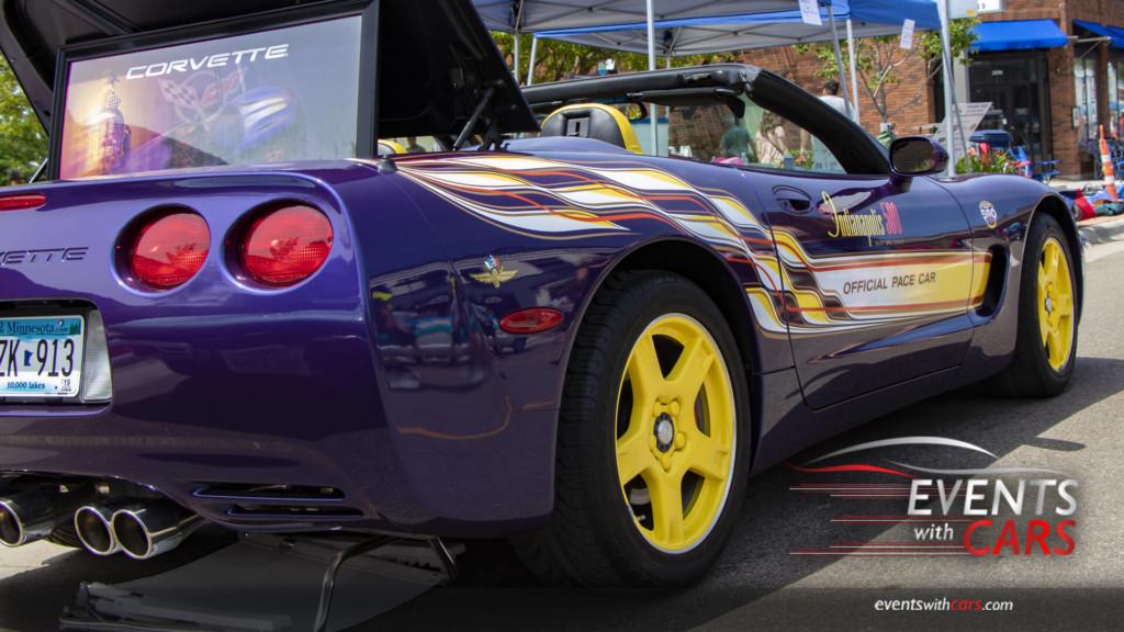 Corvette Indy Pace Car