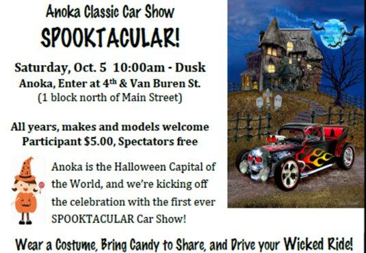 The Anoka Classic Car Show SPOOKTACULAR