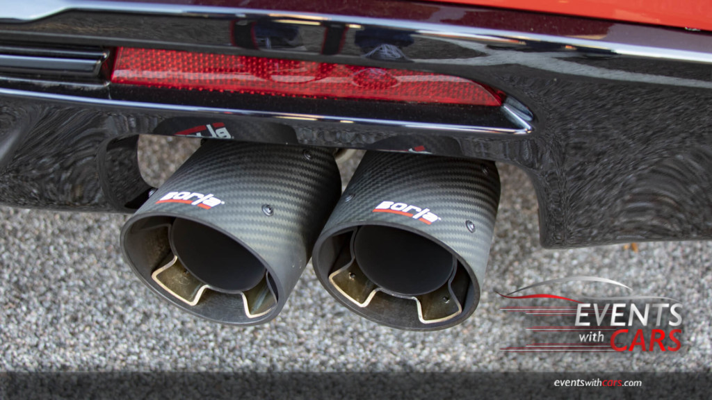Borla Carbon Tipped Exhaust