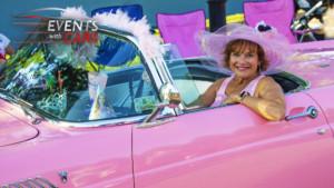 Girls Having Fun at Car shows