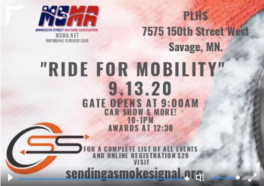 Ride for Mobility Car Show