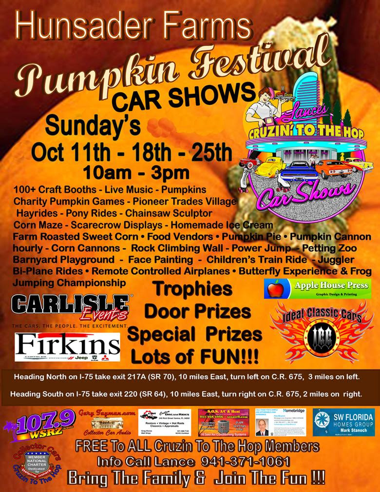 Hunsader Farms Pumpkin Festival Car Show