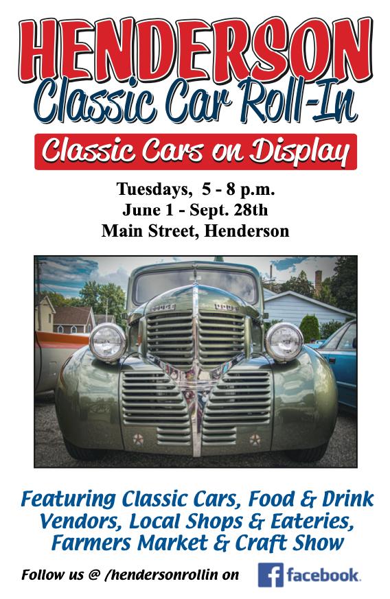 Henderson Classic Car Roll-in 2021