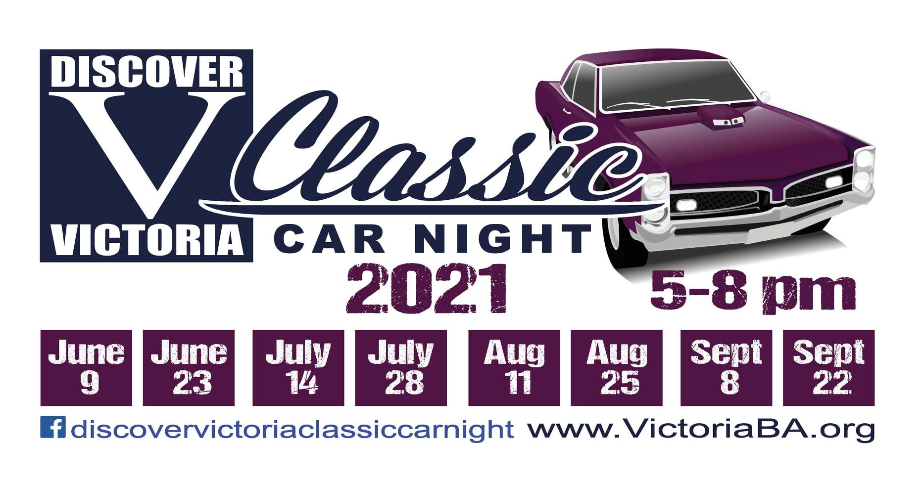 Victoria Summer Nights car show