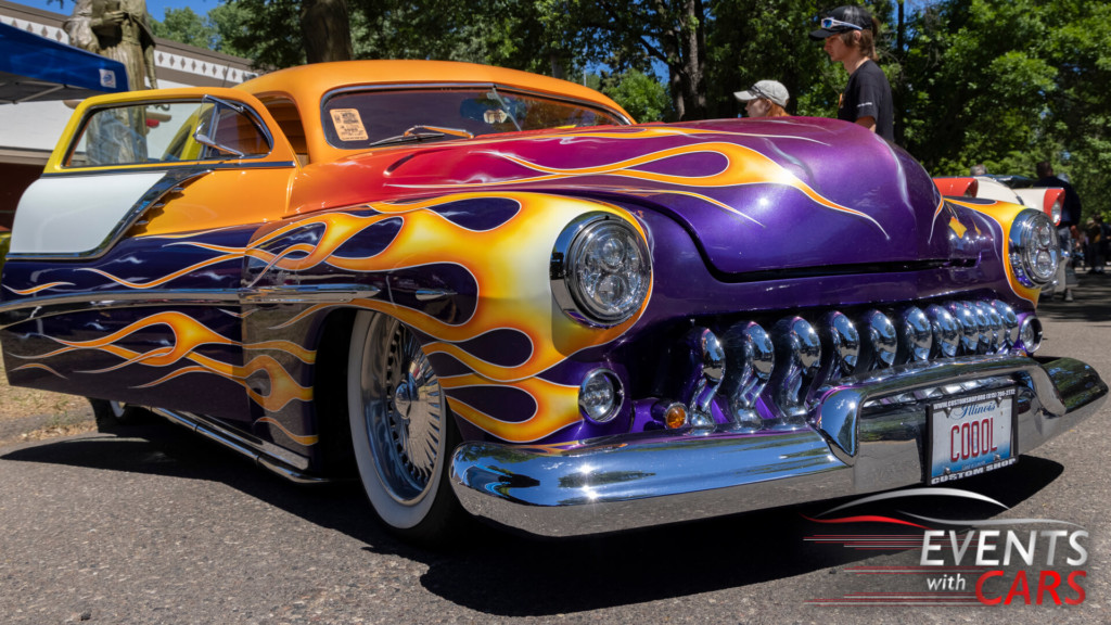 Back to the 50's 2021 car show