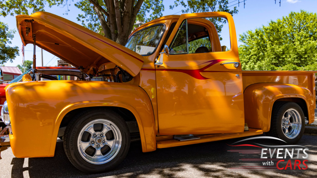 Back to the 50's car show 2021