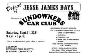 Defeat of Jesse James Days Car Show