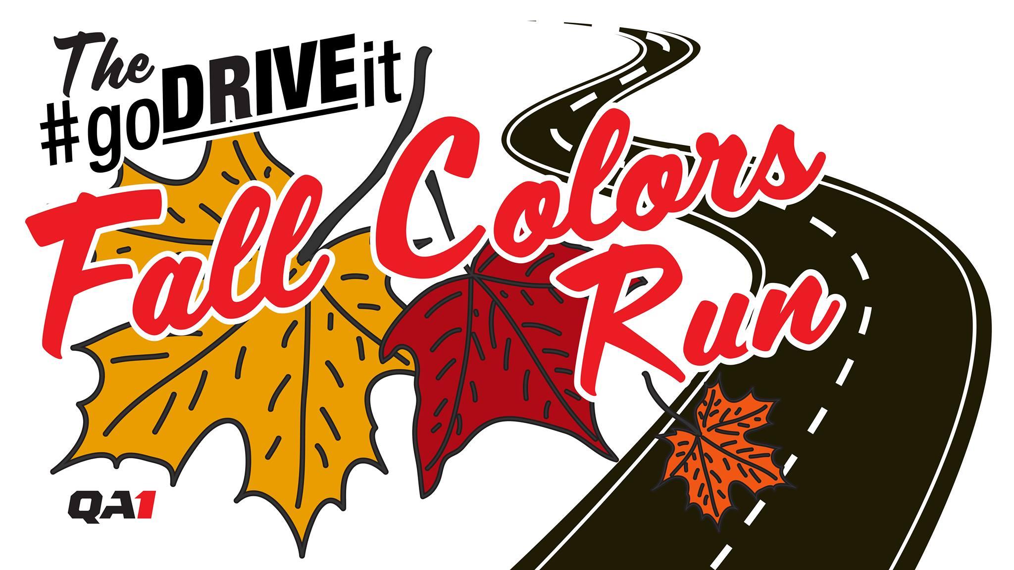 The #goDRIVEit Fall Colors Run